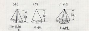 美しい数式(錐体)jmg122
